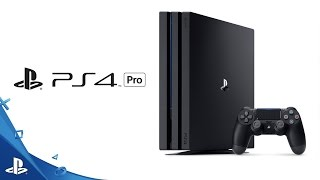 "Introducing the PS4 Pro(https://www.playstation.com/en-us/explore/ps4-pro/ Introducing the PlayStation 4 Pro. © Sony Interactive Entertainment America LLC. ""PlayStation"