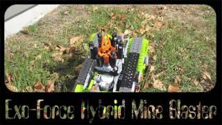 LEGO NXT EXO-FORCE HYBRID mineblaster
