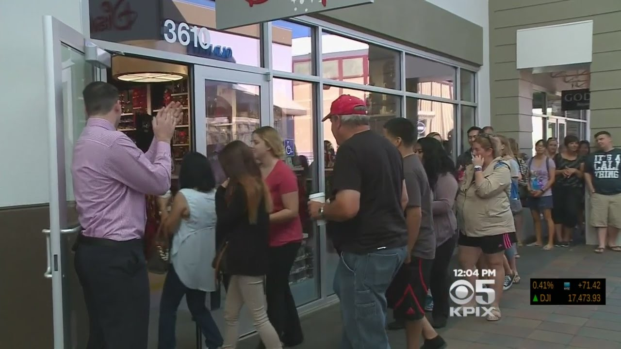 8bfc4eba1991 San Francisco Premium Outlets In Livermore Opens 30 New Stores - YouTube