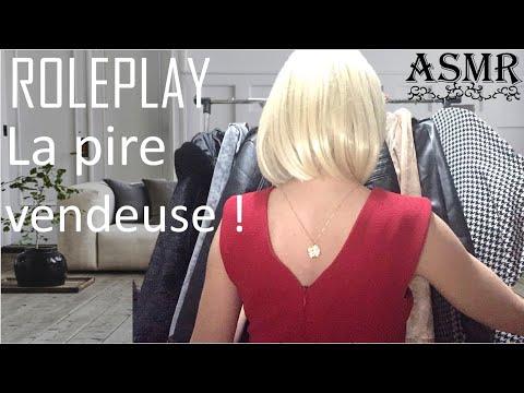 {ASMR} Roleplay LA PIRE VENDEUSE