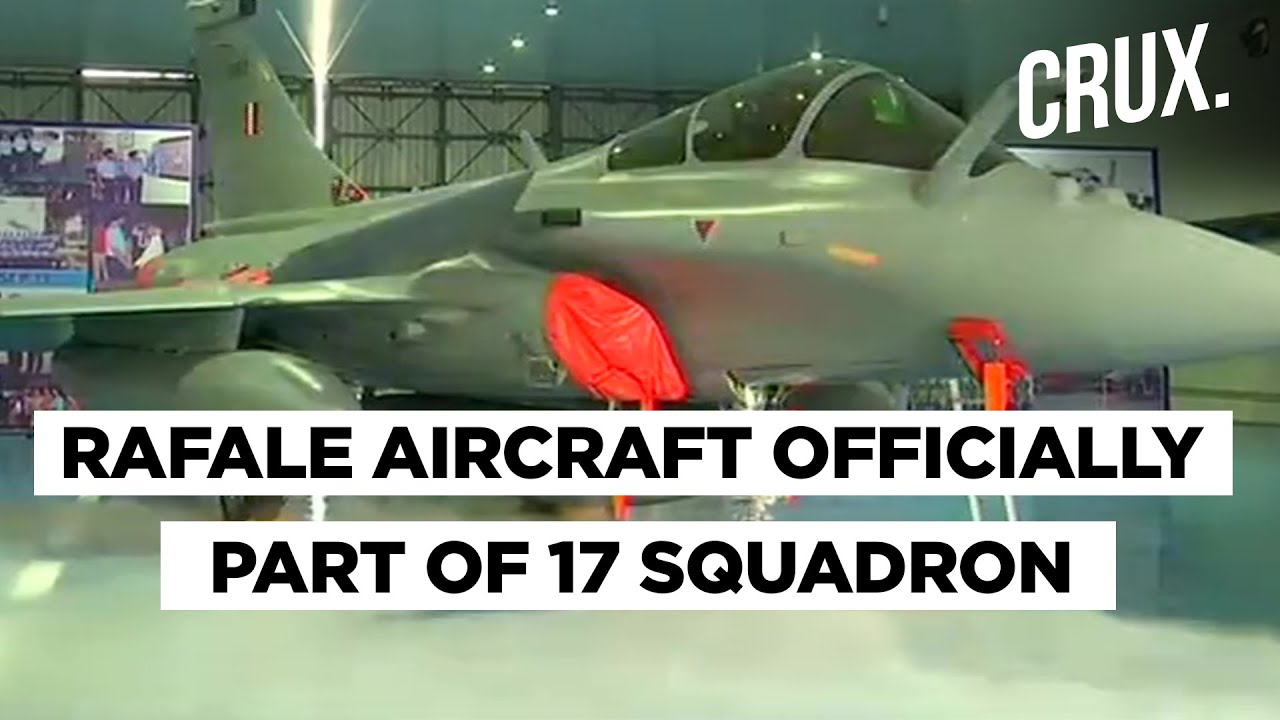 India inducts Rafale jets amid rising tensions with China