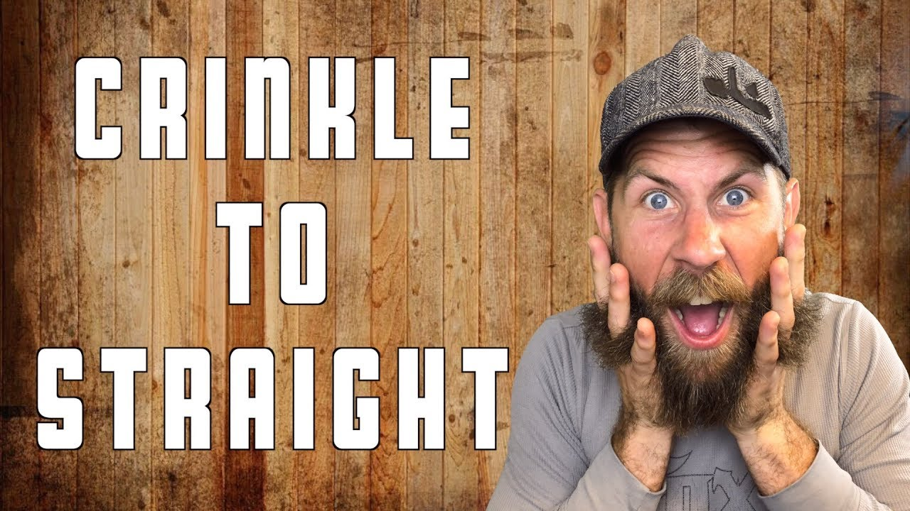 How To Straighten Your Beard!!!