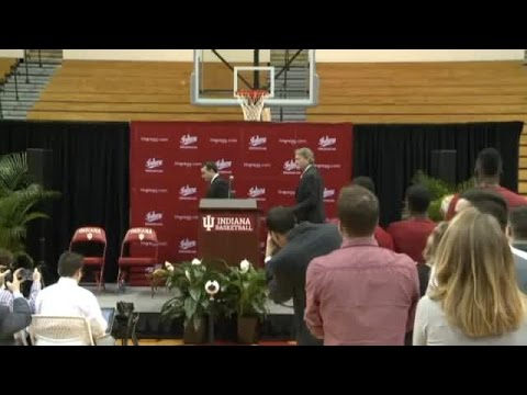 Archie Miller Indiana University introductory press conference part 1: 3/27/17