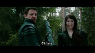 HANSEL Y GRETEL: Cazadores de Brujas 3D Trailer Oficial.