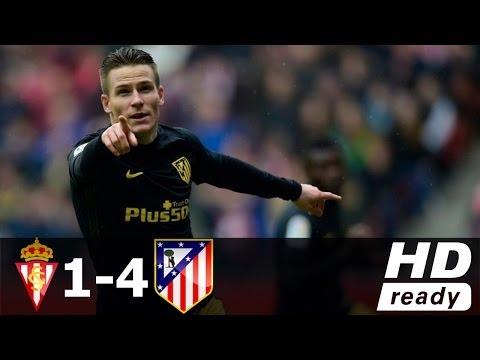 Download Sporting Gijon vs Atletico Madrid 1-4 - All Goals & Extended Highlights - La Liga 18/02/2017 HD