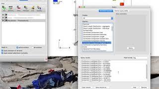 Computing average velocities of moving mesh fragments using VisIt