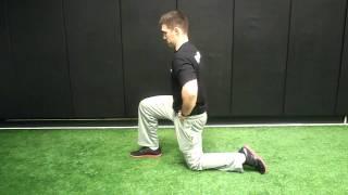 Hip Flexor Stretch - 1/2 Kneeling - Mike Reinold