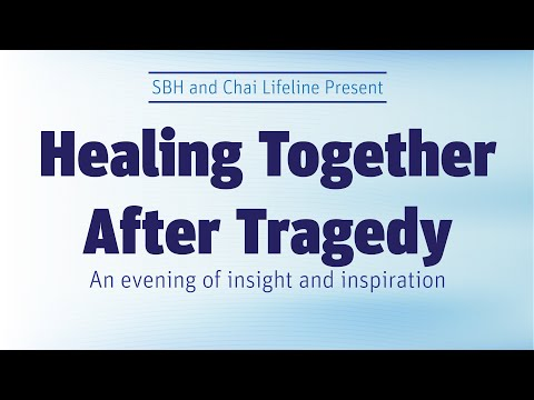 Dr. Pelcovitz & Rabbi Beyda Discuss: Healing Together After Tragedy