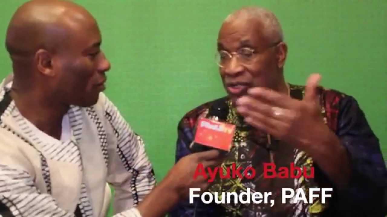 Ayuko Babu - Founder, Pan African Film Festival (PAFF)