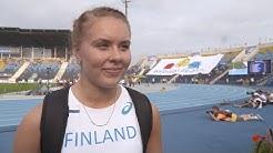 IAAF WU20 Championships Bydgoszcz 2016 Hammer Throw Women Bronze Suvi KOSKINEN FIN