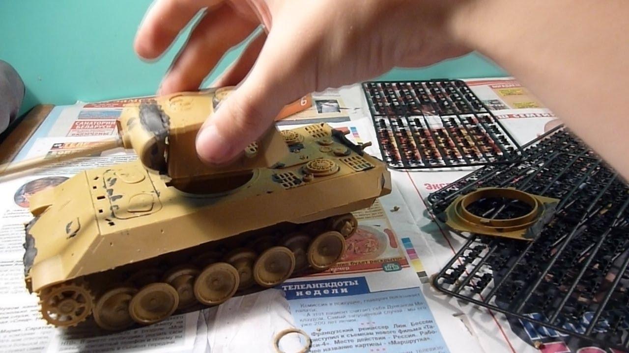 схема сборки танка тигр звезда
