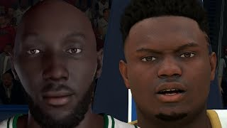 NBA 2K20 Tacko Fall My Career - College Rivalry Renewed
