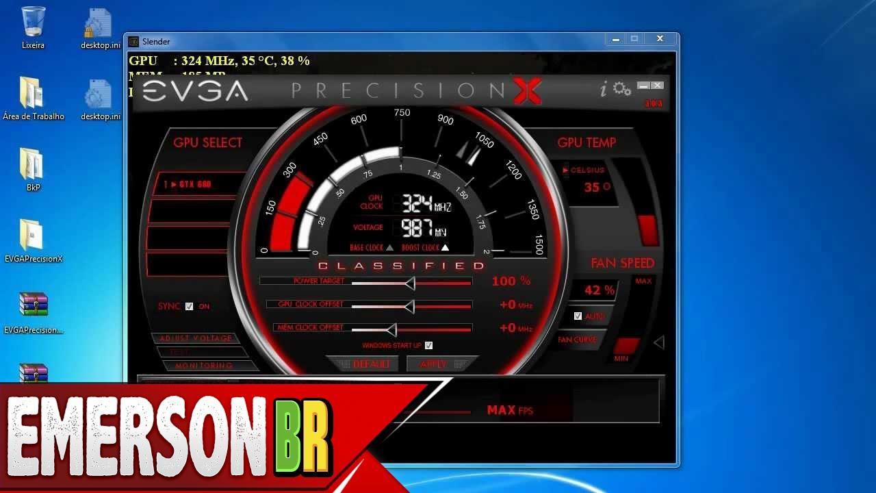 Tutorial - EVGA Precision X - Download, instalação, funções, dicas tudo na  prática