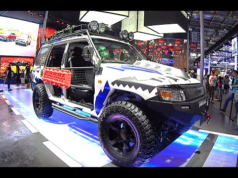 2016, 2017 SUVs Changfeng Liebao Q6 Leopaard for the Chinese army debuts on the Beijing Auto Show
