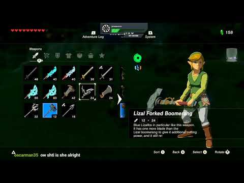 The legend of Zelda: Breath of the Wild - Twitch VOD
