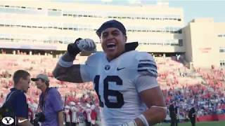 BYU beats Wisconsin at Camp Randall - Cinematic Recap