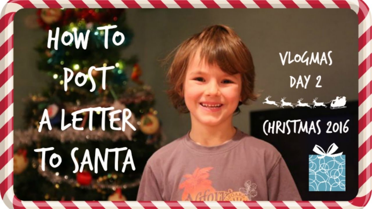 How to post a letter to santa what a 12 year old wants for how to post a letter to santa what a 12 year old wants for christmas vlogmas day 2 youtube spiritdancerdesigns Image collections