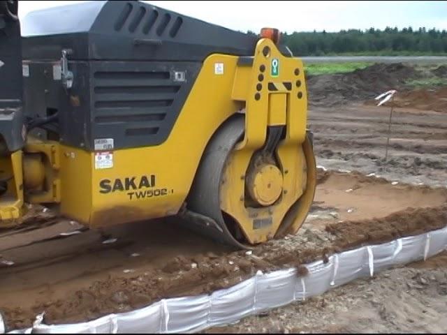 ГеоФРАМ в дорожном строительстве