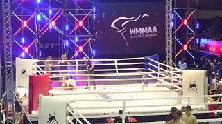 61,2 kg: Gonzalo Araoz (Argentina) vs. vs Evgeniy Manko (Belarus). 2017 World MMA Championships