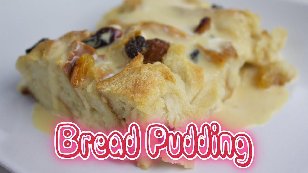 How To Make Bread Pudding Cara Buat Puding Roti