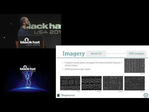 Black Hat USA 2015 - Advanced IC Reverse Engineering Tech In Depth Analysis Of A Modern Smart Ca