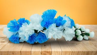 Beautiful Flowers Making with a Masks Face Mask Reuse Mask Recycling