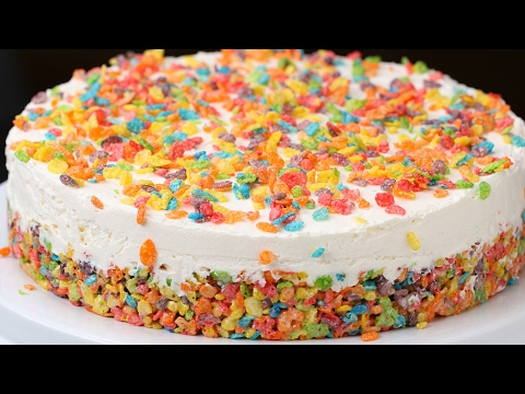 Thumbnail: Rainbow Cereal Cheesecake