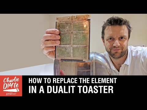 How to Replace the Element in a Dualit Toaster