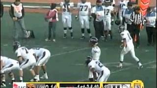 UW Whitewater vs. UW Oshkosh football 2nd qtr part 1 10-26-2013