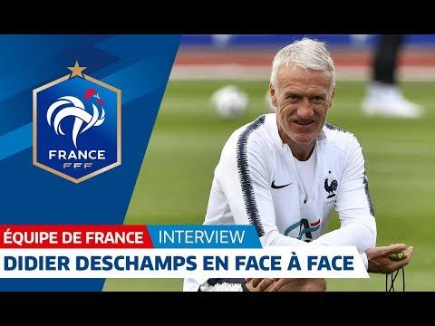 """Equipe de France, Didier Deschamps : """"Vibrons ensemble"""" I FFF 2018"""