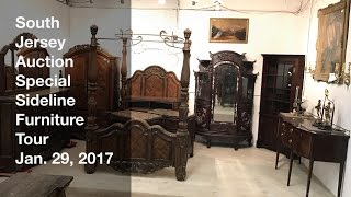 January 29, 2017 Special Sideline Furniture Tour - South Jersey Auction