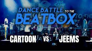 Cartoon vs Jeems | Beatbox: Tomazacre & Dharni | Dance Battle to the Beatbox 2019 | 1/2