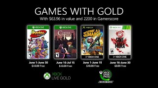 Games with Gold - Official June 2020 Trailer