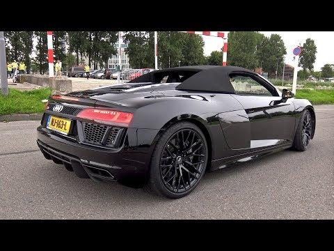 Audi R8 V10 Plus Spyder - Lovely Sounds!