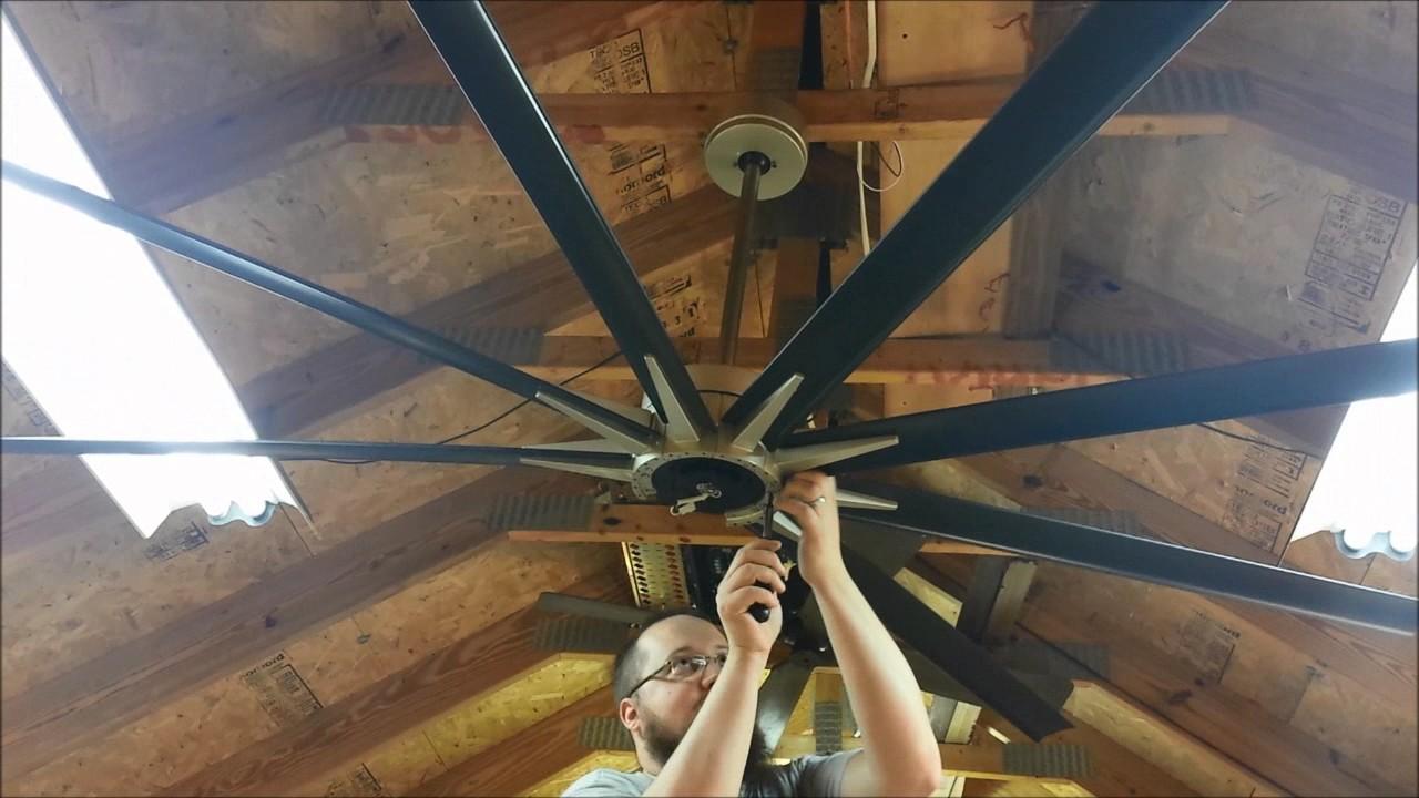 Full Test Video Of A Fanimation Odyn Dc Motor Ceiling
