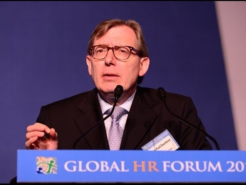 Global HR Forum 2013 | P-1 : Lecture on Successful Leadership by Global CEOs