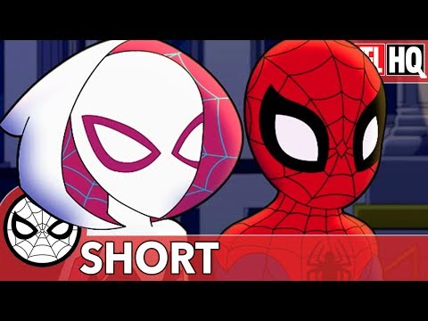 Spidey & Gwen & The Art of Teamwork   Marvel Super Hero Adventures - Doctor Octopus's Garden   SHORT
