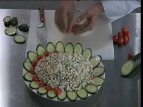 Food Arts plate platter and bowl garnishes & Food Arts plate platter and bowl garnishes - YouTube