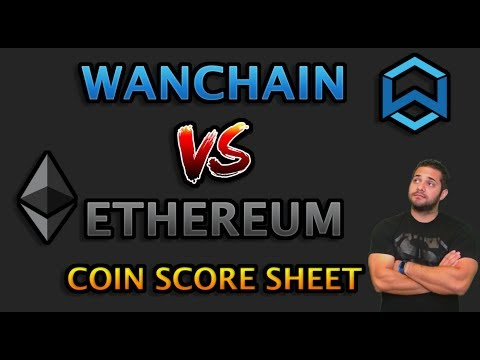WANCHAIN VS ETHEREUM - COIN SCORE SHEET