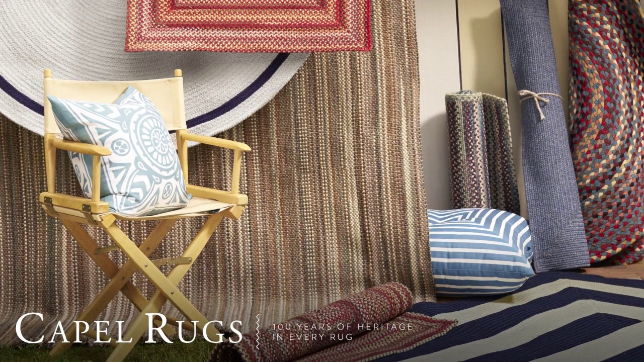 capel rugs: 100 years of heritage in every rug - youtube
