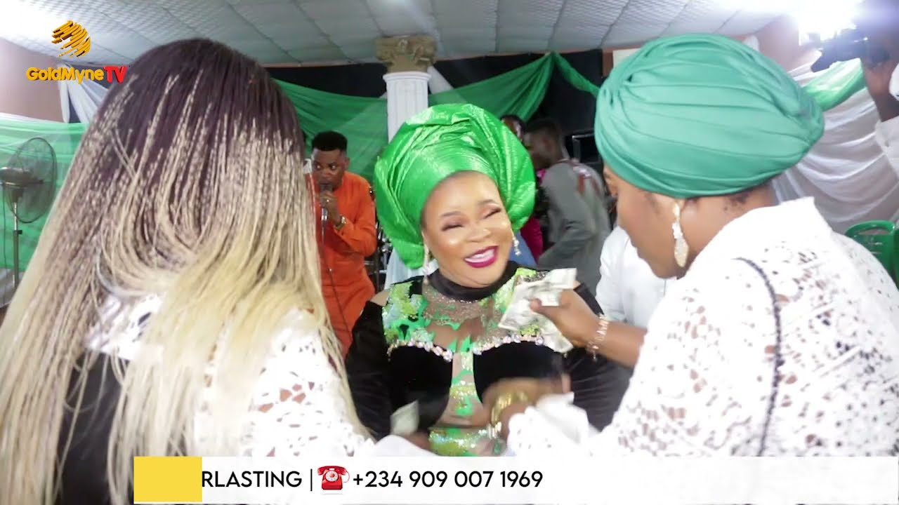 BURIAL & THANKSGIVING OF TAIWO AROMOKUN'S MUM, LATE MRS AGNES EBENEZER AS TOP NOLLYWOOD STAR ATTEND