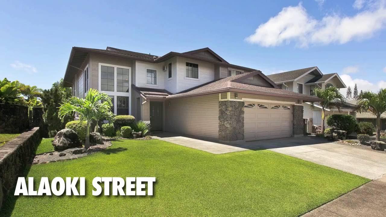 Alaoki Street Mililani Mauka Hawaii Youtube