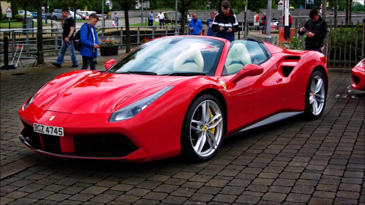 Niimc Northern Ireland Italian Car Show 360cs Gallardo V12
