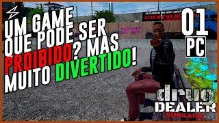 DRUG DEALER SIMULATOR #1 - UM GAME QUE PODE SER PROIBIDO? MAS MUITO DIVERTIDO! / PC screenshot 2