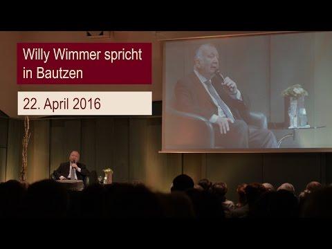 Willy Wimmer spricht in Bautzen (22.04.2016)