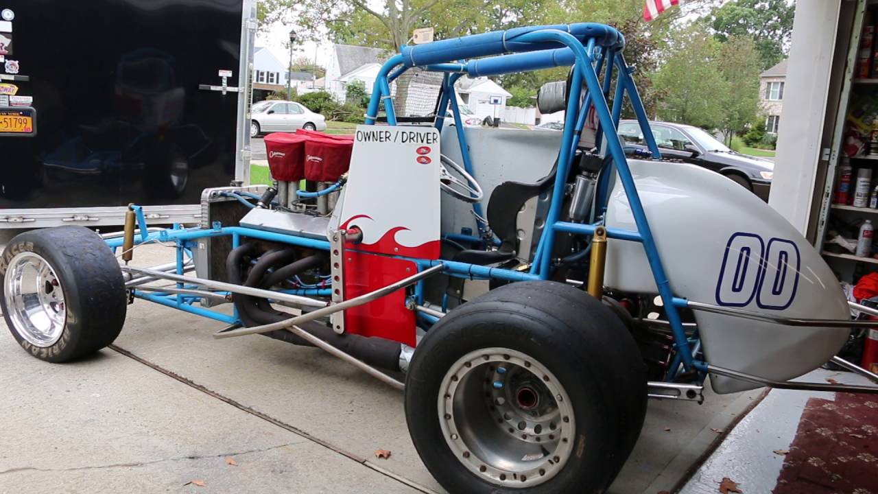 Vintage Sprint Car For Sale - YouTube