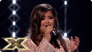 Scarlett Lee Sings I'll Never Love Again | Live Shows Week 4 | The X Factor Uk 2