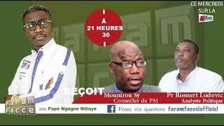 Faram facce : Pape Ngagne Ndiaye reçoit le Pr Mounirou Sy et Rosnert Ludovic Alissoutin