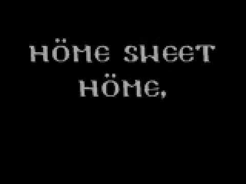 SWEET HOME ALABAMA - HOME SWEET HOME LYRICS