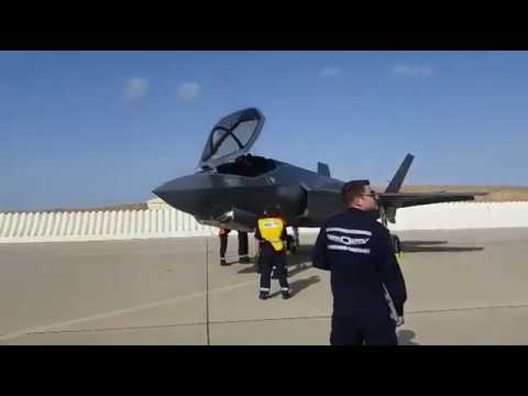 Three new F-35 fighter jets land in Israel